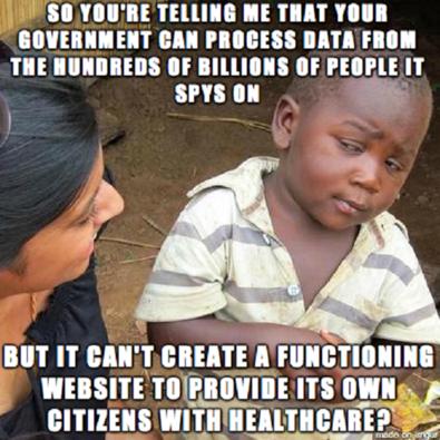 Obamacare, Internet, Healthcare.gov, meme, memes, Geek-themed Meme of the Week