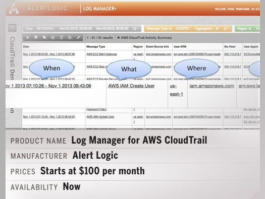 Log Manager for AWS CloudTrail