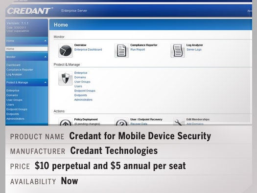 Credant for Mobile Device Security