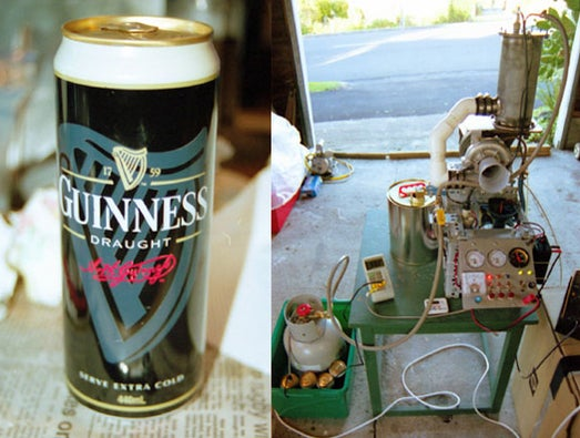 The World's First Jet Powered Beer Cooler