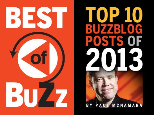 The Buzzblog year in review