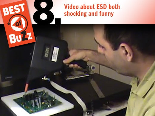 No. 8: Video about ESD both shocking and funny