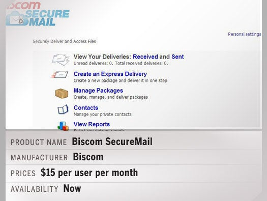 Biscom SecureMail