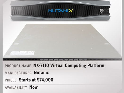 Nutanix NX-7110 Virtual Computing Platform