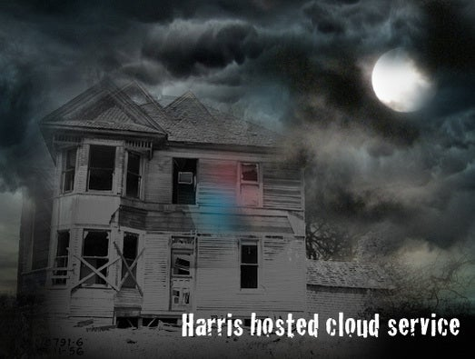 Harris hosted cloud service