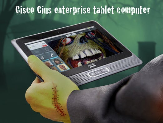 Cisco Cius enterprise tablet computer