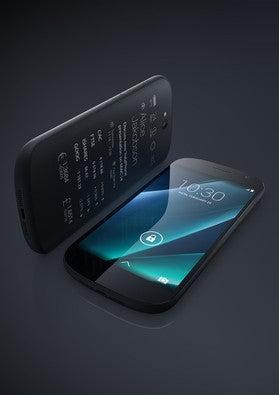 Yota's improved two-screen phone