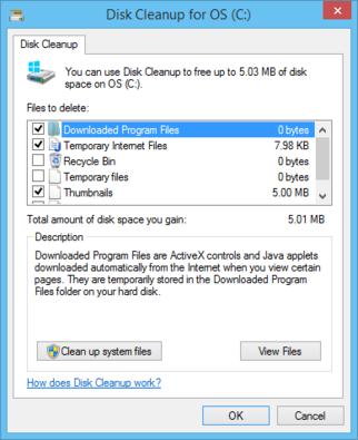 Minimize your Windows 8.1 setup