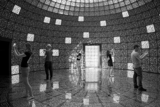 QR code exhibition at 2012 Architecture Biennale