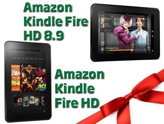 Amazon Kindle Fire HD and Amazon Kindle Fire HD 8.9