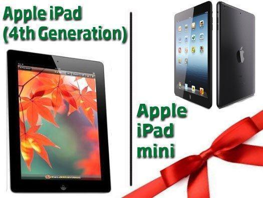 Apple iPad and Apple iPad mini