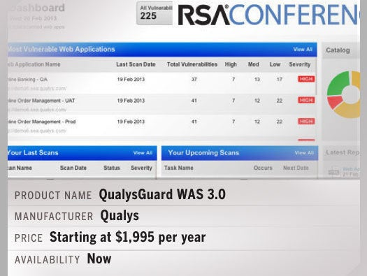 QualysGuard WAS 3.0