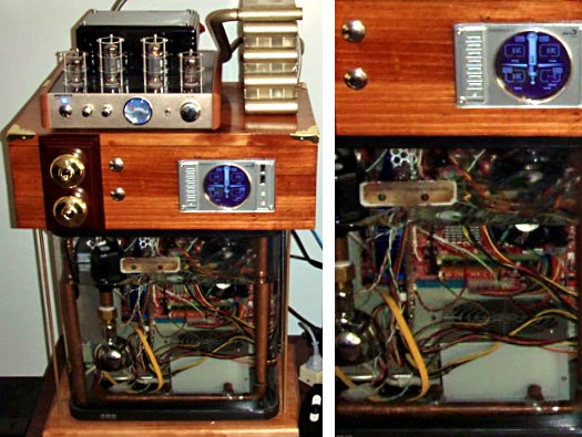 Oil PC Steampunk Media Immersion Computer