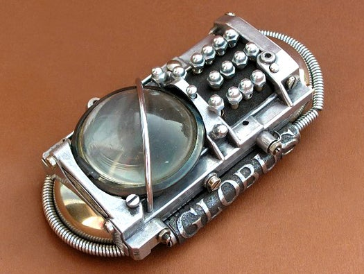 Ozone Battery steampunk cellphone