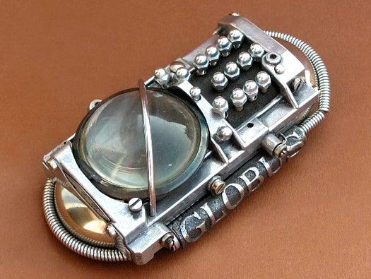 Ozone Battery steampunk cellphone