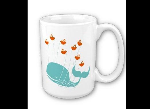 Twitter fail whale mug
