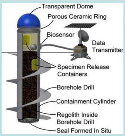 Mars Ecopoiesis Test Bed