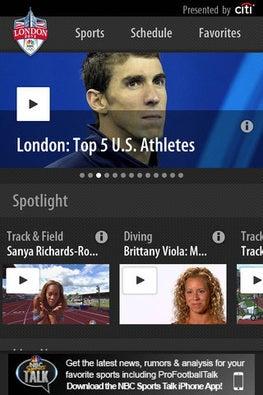 NBC Olympics and NBC Live Extra