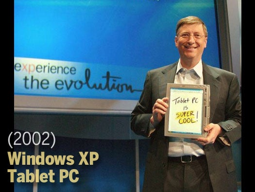 Windows XP Tablet PC (2002)