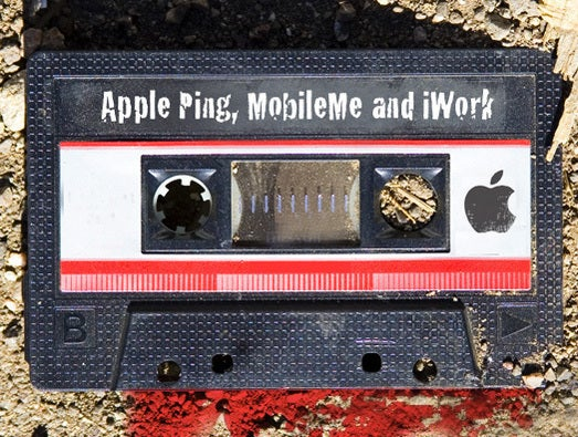 Apple Ping, MobileMe and iWork