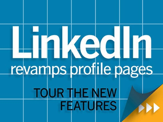 LinkedIn prorfile page