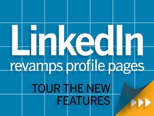 LinkedIn prorfile page