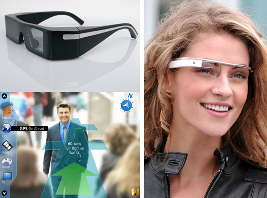 Lumus OE-31 and Google Project Glass