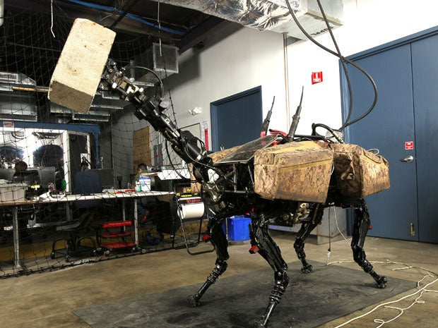 Robotic animals, now with heads like hands