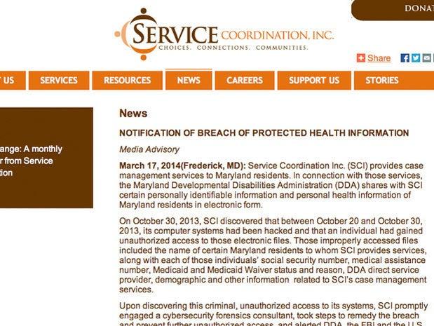 Service Coordination of Maryland,