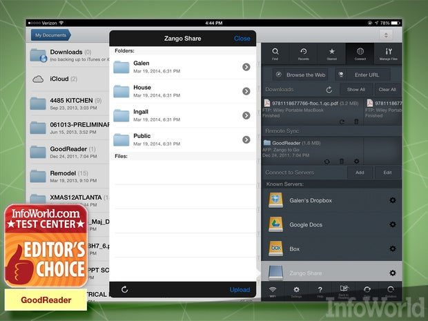 Good.iWare GoodReader file manager