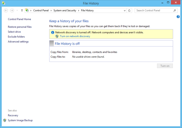 Make a backup of your Windows 8.1 setup