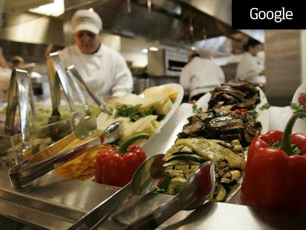 Google Gourmet Food Adds 15 Pounds
