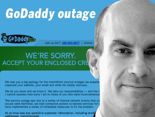 GoDaddy outage