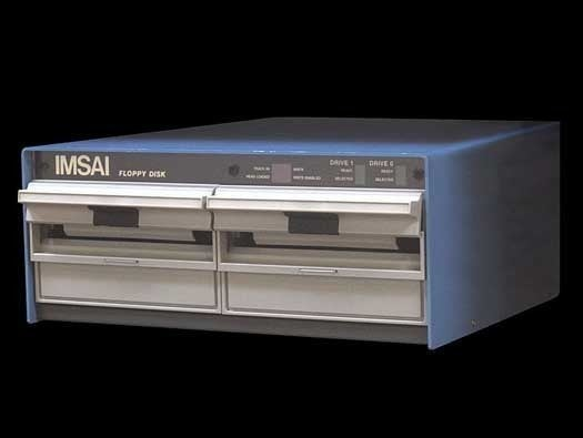 IMSAI FDC-2 dual 8-inch floppy drive