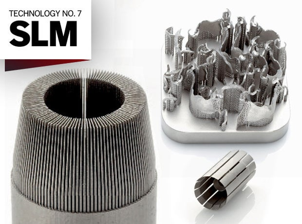 Examples of SLM-based products.