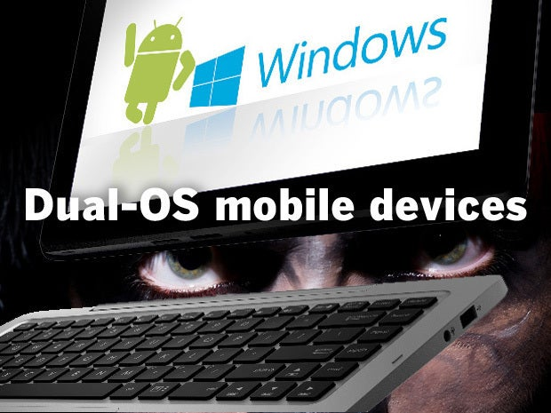Dual-OS mobile devices