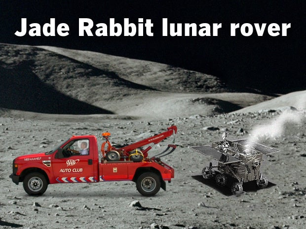 Jade Rabbit lunar rover