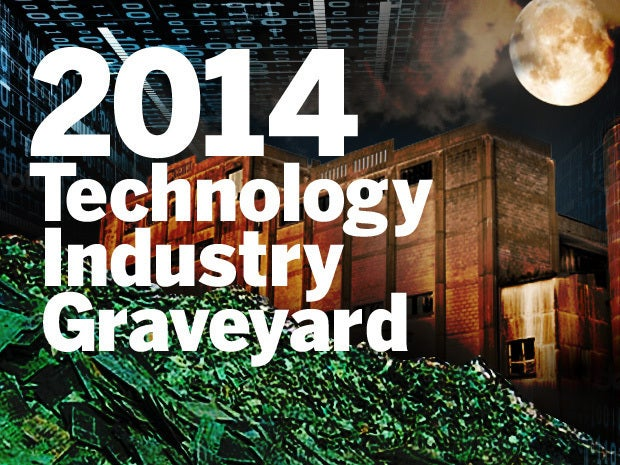 Technology Industry Graveyard for 2014