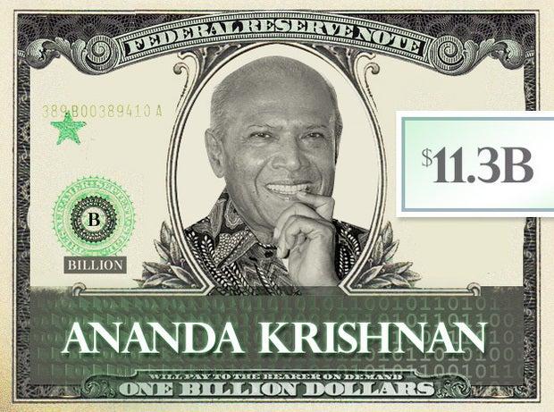 Ananda Krishnan, 11.3B