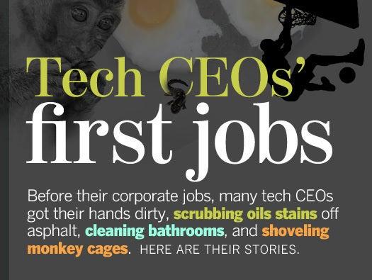 ceo first jobs