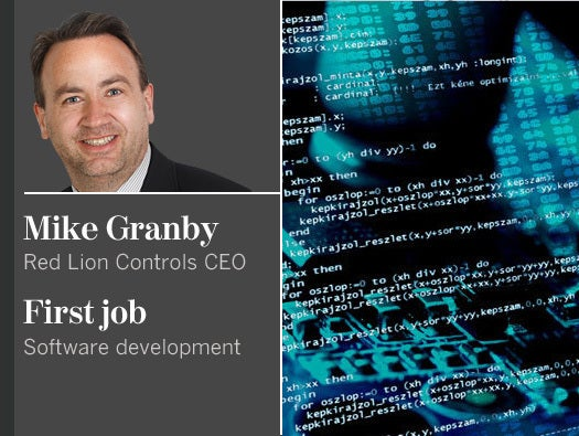 Mike Granby, Red Lion Controls CEO