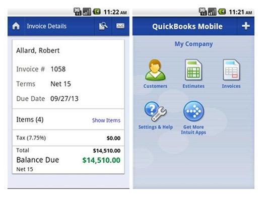 Quickbooks Mobile