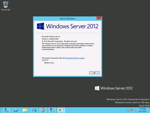 Windows Server 2012 -Introduction