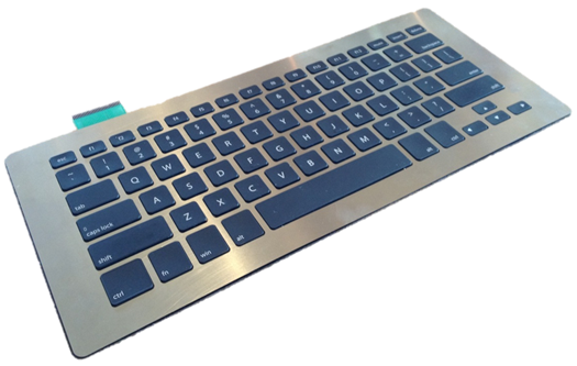 ThinTouch keyboard