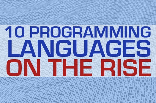 Beyond the usual suspects: 10 programming languages on the rise