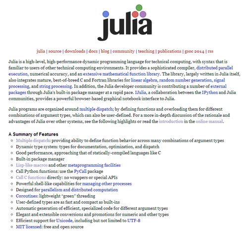 Julia 0.2.1