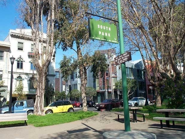 Picture of South Park in San Francisco
