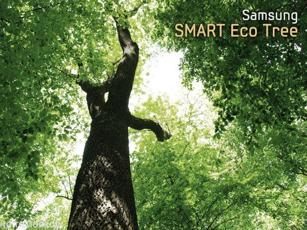 Samsung's SMART Eco Trees