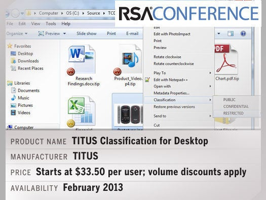 TITUS Classification for Desktop