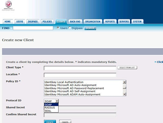 Vasco Identikey Authentication Server